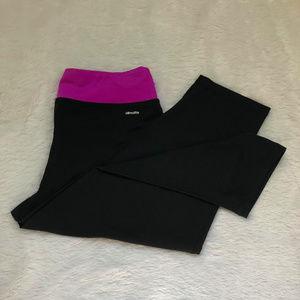 Adidas Womens ClimaLite Capri Pants M